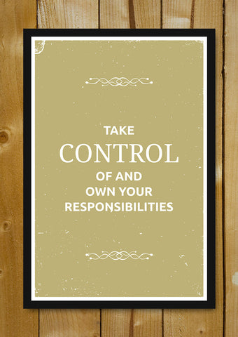 Glass Framed Posters, Control Suits Glass Framed Poster, - PosterGully - 1