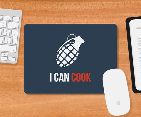Mousepads, Cook Nades Mousepad | Artist: Rohit Malhotra, - PosterGully