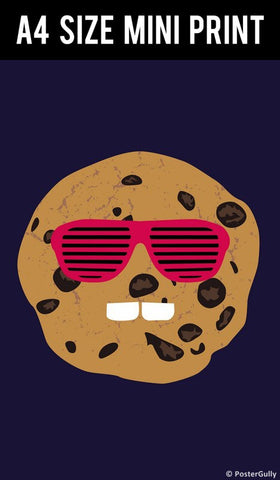 Mini Prints, Cookie Face  | Mini Print, - PosterGully