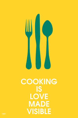 Wall Art, Cooking With Love, - PosterGully