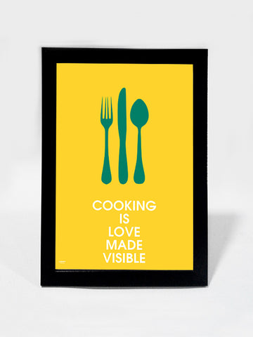 Framed Art, Cooking With Love | Framed Art, - PosterGully