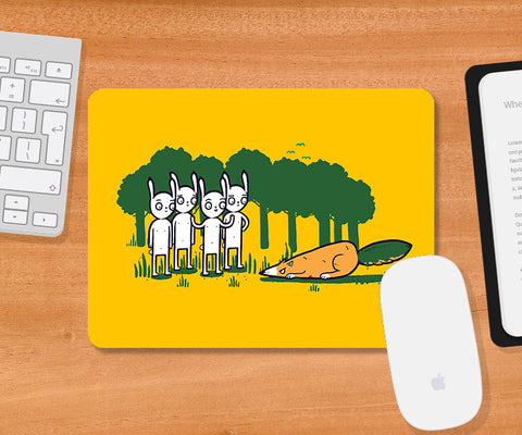 Mousepads, Cunning Orange Mousepad | By Captain Kyso, - PosterGully