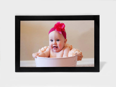 Framed Art, Cute Baby Girl | Framed Art, - PosterGully