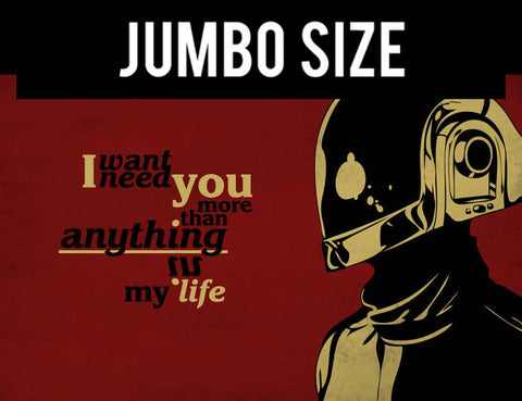 Jumbo Poster, Daft Punk Quote | Jumbo Poster, - PosterGully