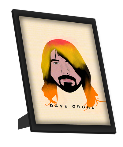 Framed Art, Dave Grohl | Foo Fighters | Nirvana Framed Art, - PosterGully