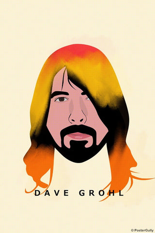 Wall Art, Dave Grohl | Foo Fighters | Nirvana, - PosterGully