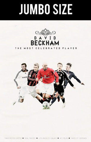 Jumbo Poster, David Beckham | The Legend | Jumbo Poster, - PosterGully