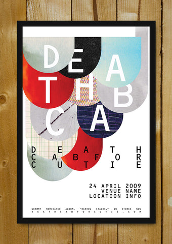 Glass Framed Posters, Death Cab For Cutie Glass Framed Poster, - PosterGully - 1
