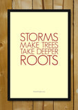 Glass Framed Posters, Deeper Roots Glass Framed Poster, - PosterGully - 1