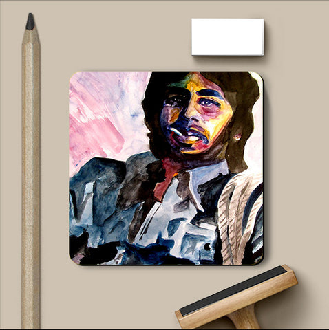 PosterGully Coasters, Deewar Watercolor Coaster | Artist: Sunanda Puneet, - PosterGully