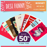 Desi Funny Boxset - Set of 10