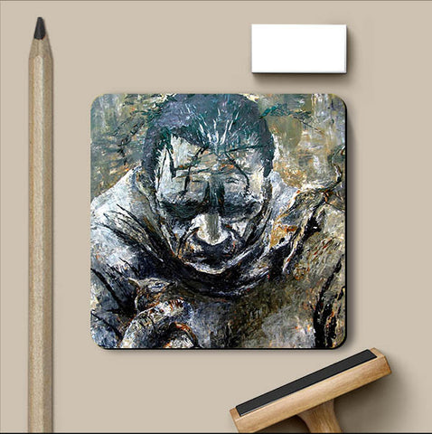 PosterGully Coasters, Despair Coaster | Artist: Sunanda Puneet, - PosterGully