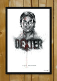 Glass Framed Posters, Dexter Ashes Artwork Glass Framed Poster, - PosterGully - 1