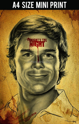 Mini Prints, Dexter | Tonight's The Night Artwork | Mini Print, - PosterGully