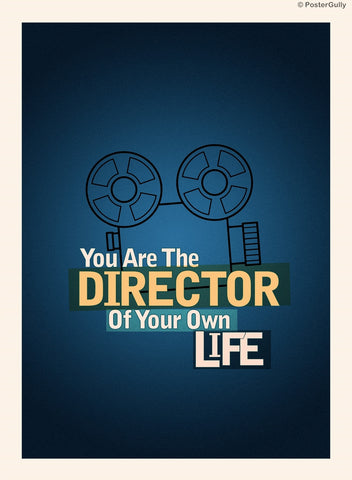 Wall Art, Director Of Your Own Life, - PosterGully
