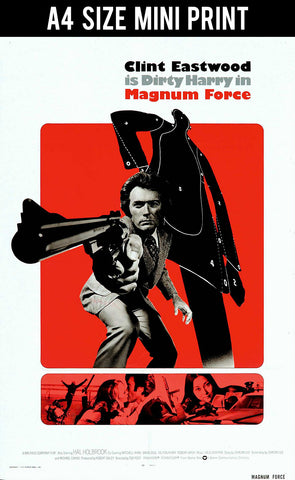 Mini Prints, Dirty Harry | Magnum Force | Mini Print, - PosterGully