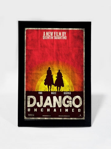 Framed Art, Django Unchained Tarantino Special | Framed Art, - PosterGully