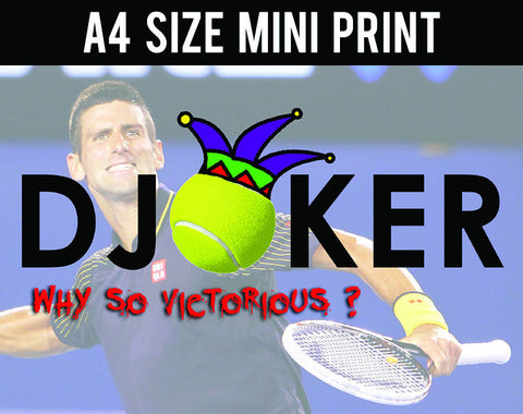 Mini Prints, Djoker Why So Victorious | Mini Print, - PosterGully