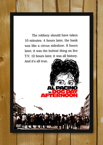 Glass Framed Posters, Dog Day Afternoon Glass Framed Poster, - PosterGully - 1
