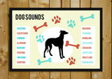 Glass Framed Posters, Dog Sounds Glass Framed Poster, - PosterGully - 1