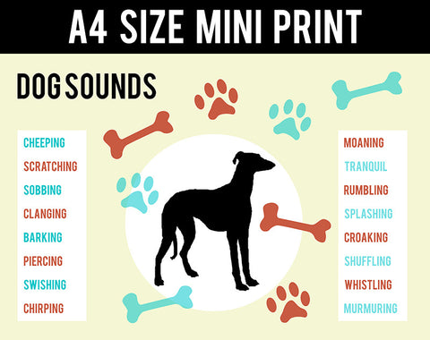 Mini Prints, Dog Sounds | Mini Print, - PosterGully