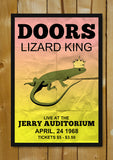 Glass Framed Posters, Doors Lizard King Jerry Concert Glass Framed Poster, - PosterGully - 1