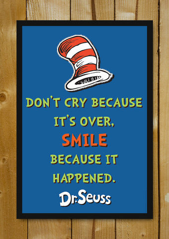 Glass Framed Posters, Dr. Seuss Quote Glass Framed Poster, - PosterGully - 1
