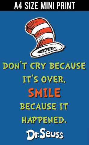 Mini Prints, Dr. Seuss Quote | Mini Print, - PosterGully