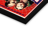 Glass Framed Posters, Dracula Red Web Glass Framed Poster, - PosterGully - 2