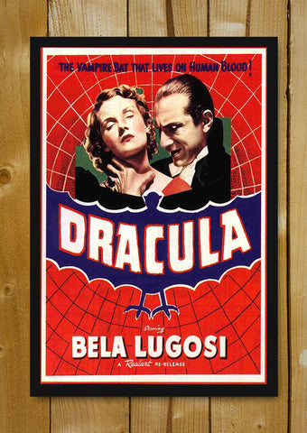 Glass Framed Posters, Dracula Red Web Glass Framed Poster, - PosterGully - 1