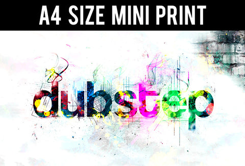Mini Prints, DubStep Liven Up | Mini Print, - PosterGully