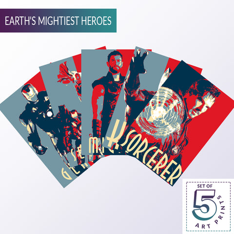 Crazy Fives  — Earth's Mightiest Heroes