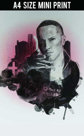 Mini Prints, Eminem Painting | Mini Print, - PosterGully