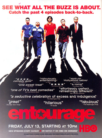 PosterGully Specials, Entourage | Live It, - PosterGully