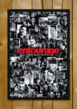Glass Framed Posters, Entourage Maybe You Can Have It All Collage Glass Framed Poster, - PosterGully - 1