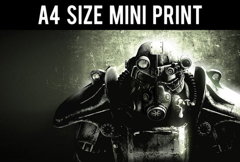 Mini Prints, Fallout Game | Mini Print, - PosterGully