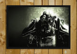 Glass Framed Posters, Fallout Game Glass Framed Poster, - PosterGully - 1