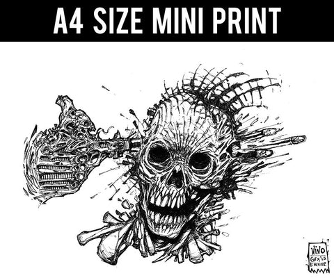 Mini Prints, Fallout Line Art | Mini Print, - PosterGully