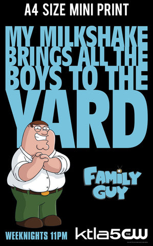 Mini Prints, Family Guy | Peter Griffin Quote | Mini Print, - PosterGully