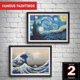 Set of 2 Famous Paintings Frames