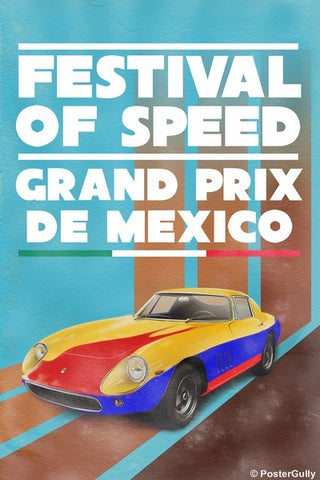 Wall Art, Festival Of Speed  | Vintage Racing, - PosterGully