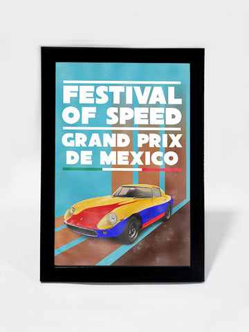 Framed Art, Festival Of Speed Vintage Racing | Framed Art, - PosterGully