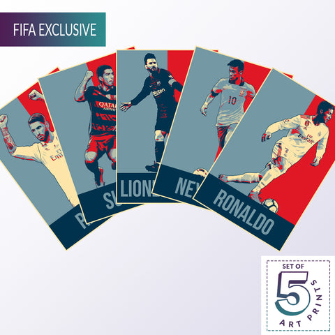 Crazy Fives  — FIFA 2018 POSTERGULLY EXCLUSIVE