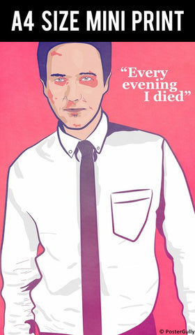 Mini Prints, Fight Club | I Died Every Evening | Mini Print, - PosterGully