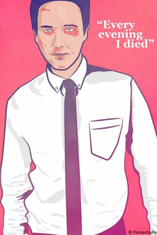 Wall Art, Fight Club | I Died Every Evening, - PosterGully