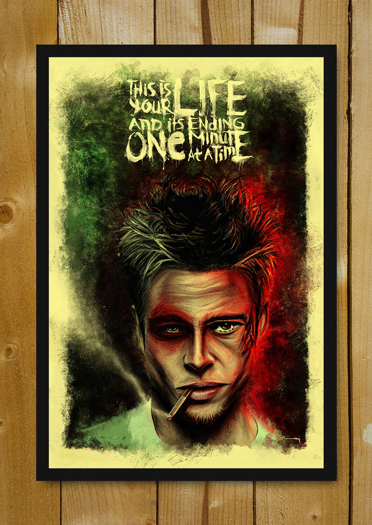 Buy Framed Posters Online Shopping India Fight Club Brad
