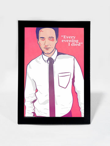 Framed Art, Fight Club I Died Every Evening | Framed Art, - PosterGully