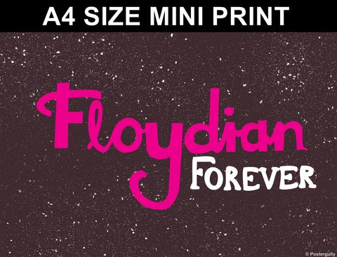 Mini Prints, Floydian Forever | Pop Color | Mini Print, - PosterGully