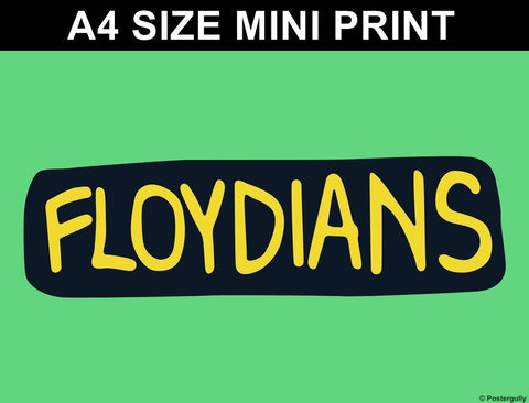 Mini Prints, Floydians | Pop Color | Mini Print, - PosterGully