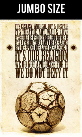 Jumbo Poster, Football Is Religion | Jumbo Poster, - PosterGully